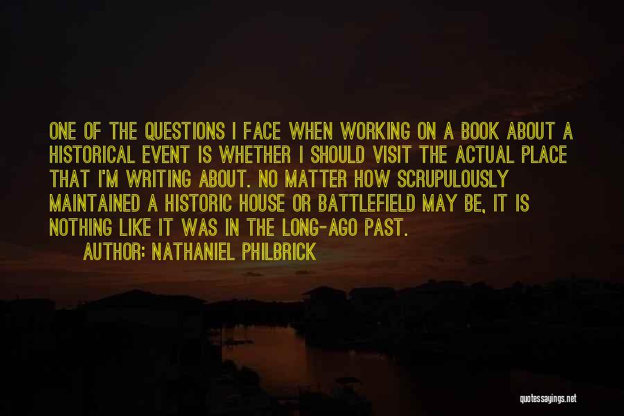 A Book Quotes By Nathaniel Philbrick