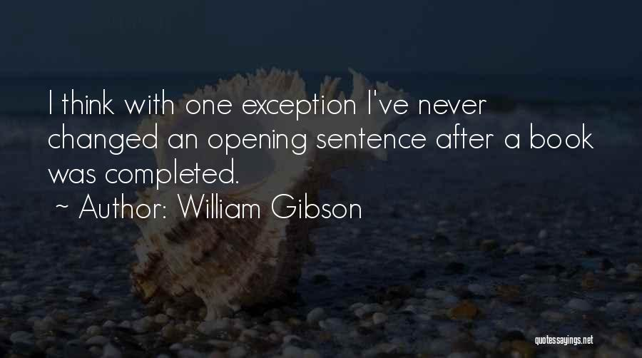 A Book Quotes By William Gibson