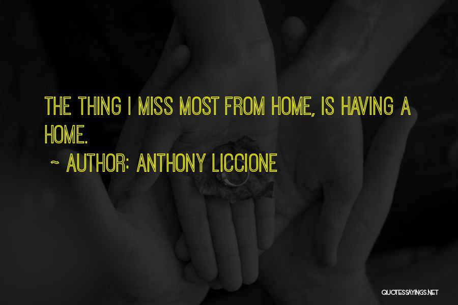 A Broken Family Quotes By Anthony Liccione