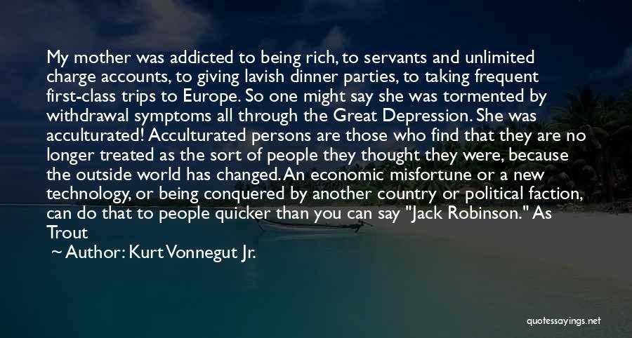 A Broken Family Quotes By Kurt Vonnegut Jr.