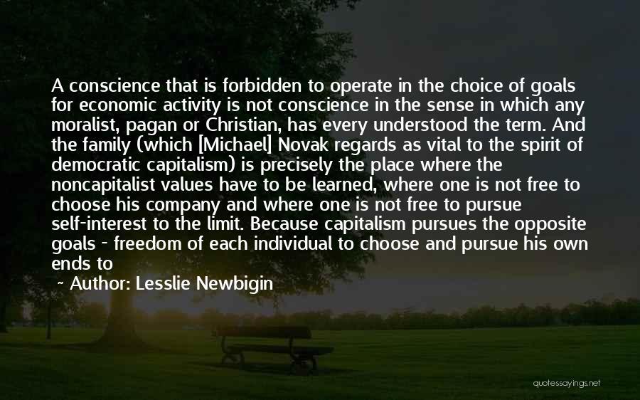 A Broken Family Quotes By Lesslie Newbigin
