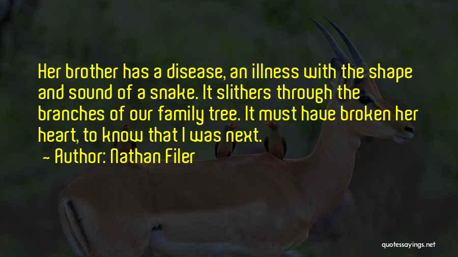 A Broken Family Quotes By Nathan Filer