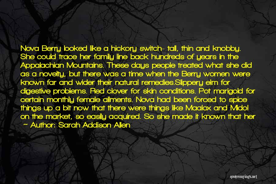 A Broken Family Quotes By Sarah Addison Allen