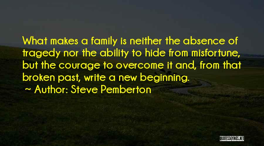 A Broken Family Quotes By Steve Pemberton
