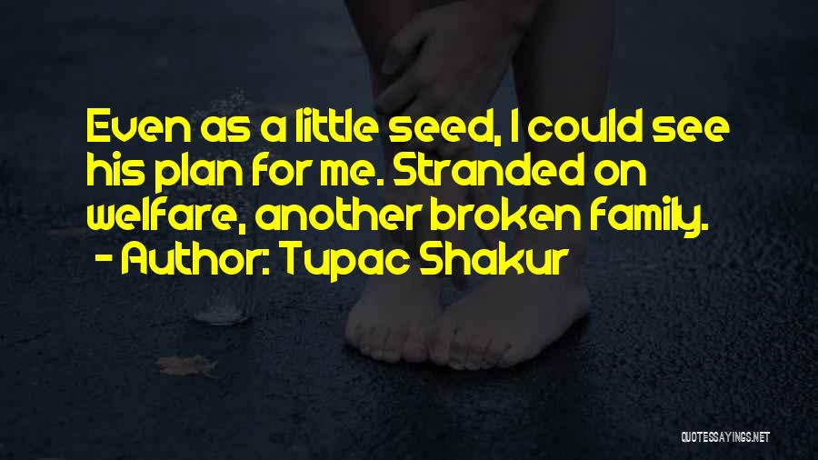 A Broken Family Quotes By Tupac Shakur