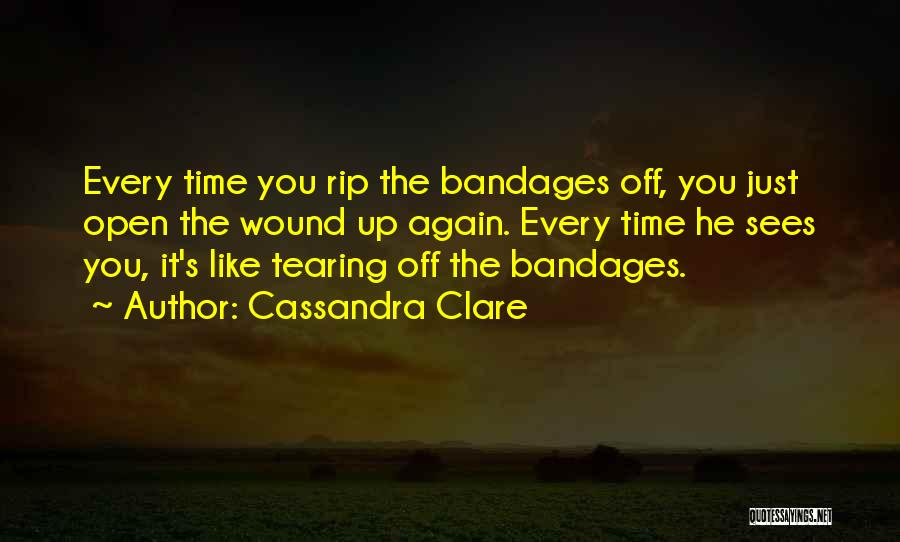 A Broken Heart And Moving On Quotes By Cassandra Clare