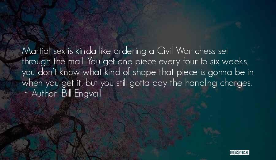 A Civil War Quotes By Bill Engvall
