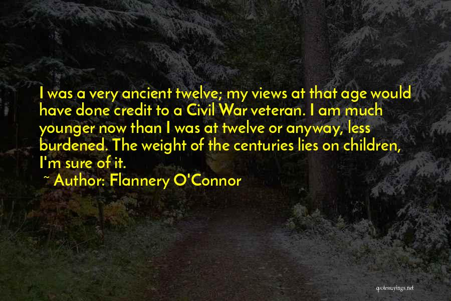 A Civil War Quotes By Flannery O'Connor