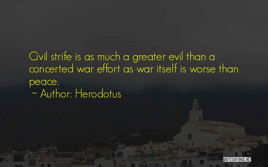 A Civil War Quotes By Herodotus