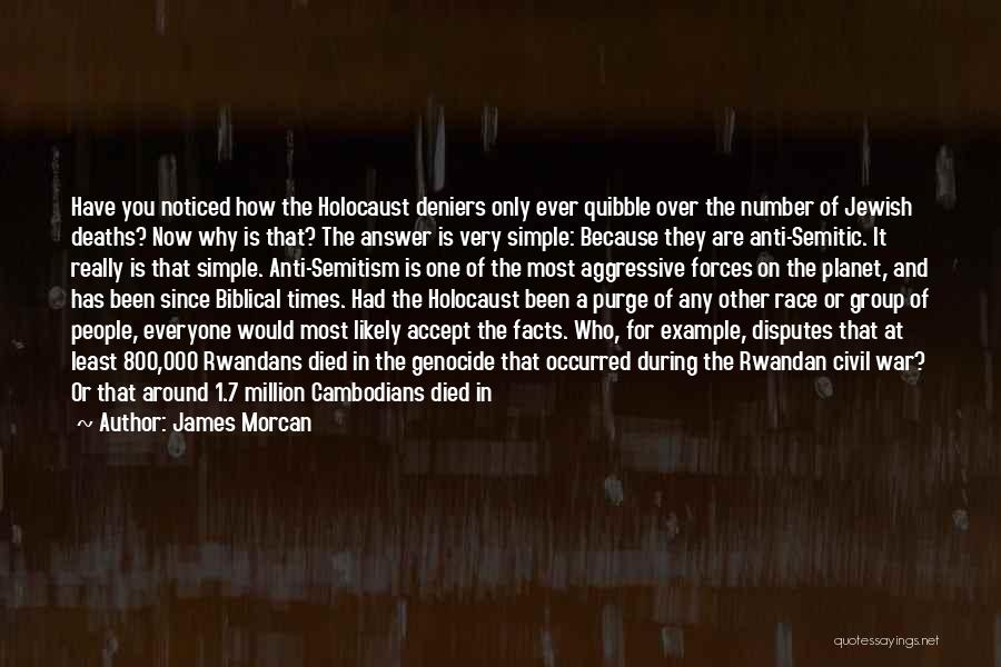 A Civil War Quotes By James Morcan