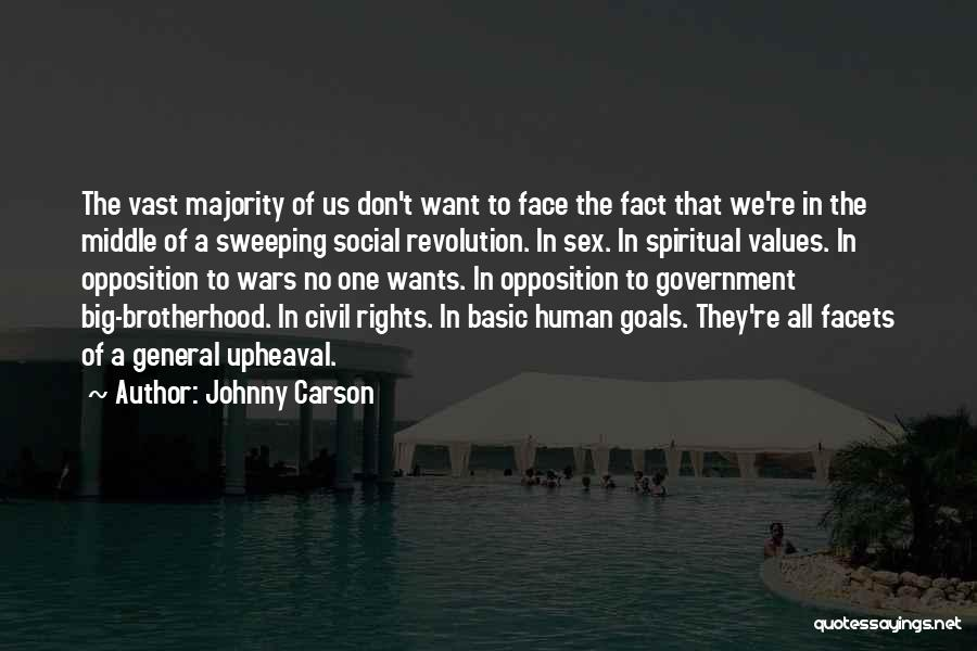 A Civil War Quotes By Johnny Carson