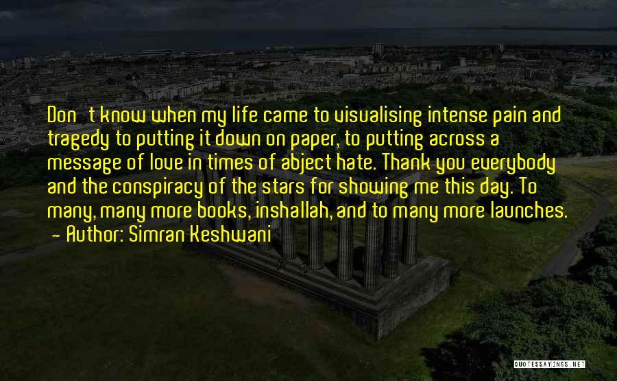 A Civil War Quotes By Simran Keshwani