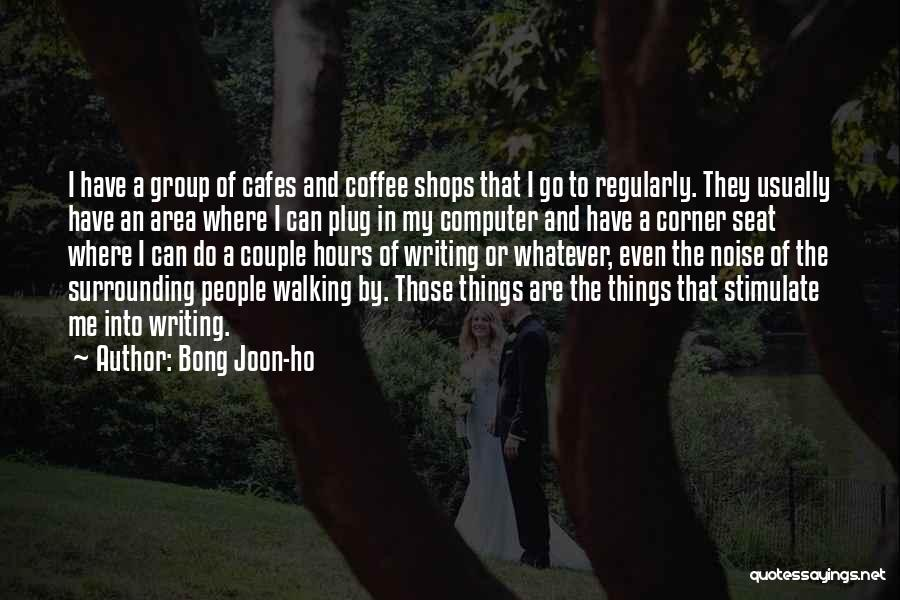 A Couple Quotes By Bong Joon-ho