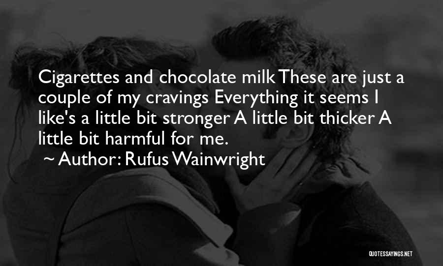 A Couple Quotes By Rufus Wainwright