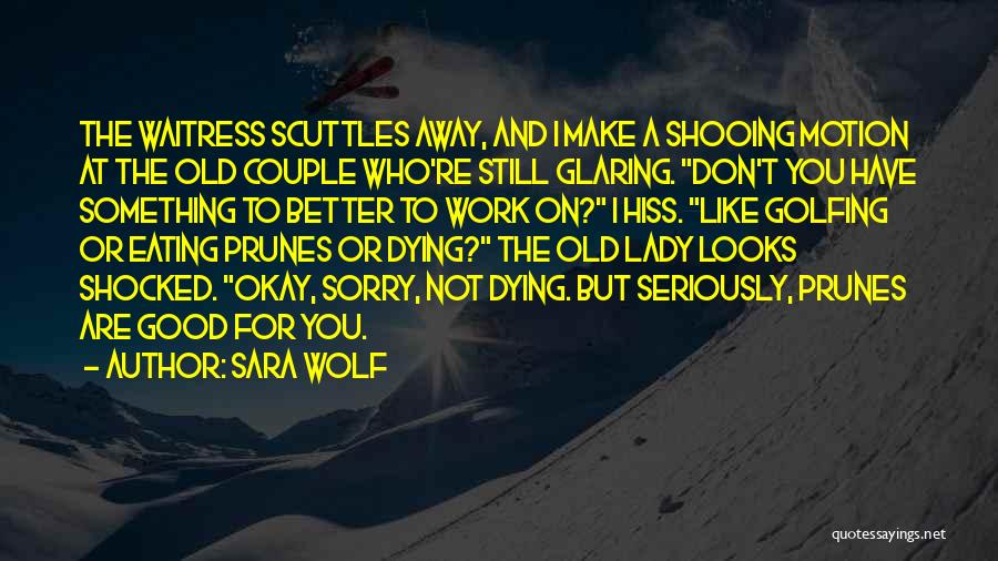 A Couple Quotes By Sara Wolf