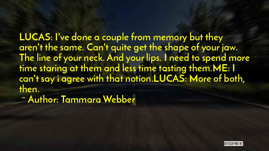 A Couple Quotes By Tammara Webber