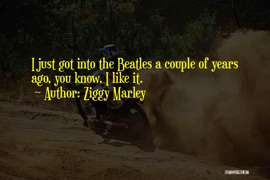 A Couple Quotes By Ziggy Marley