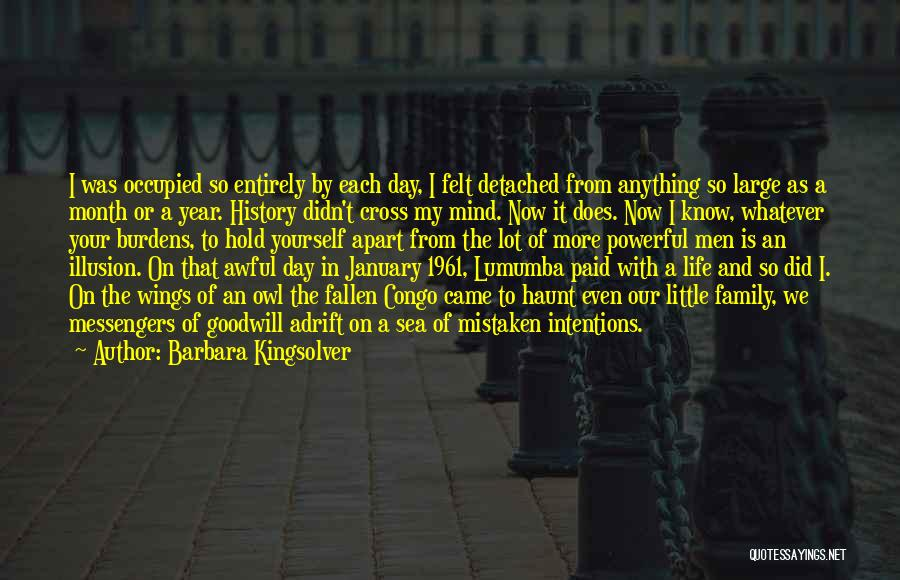 A Day With My Family Quotes By Barbara Kingsolver