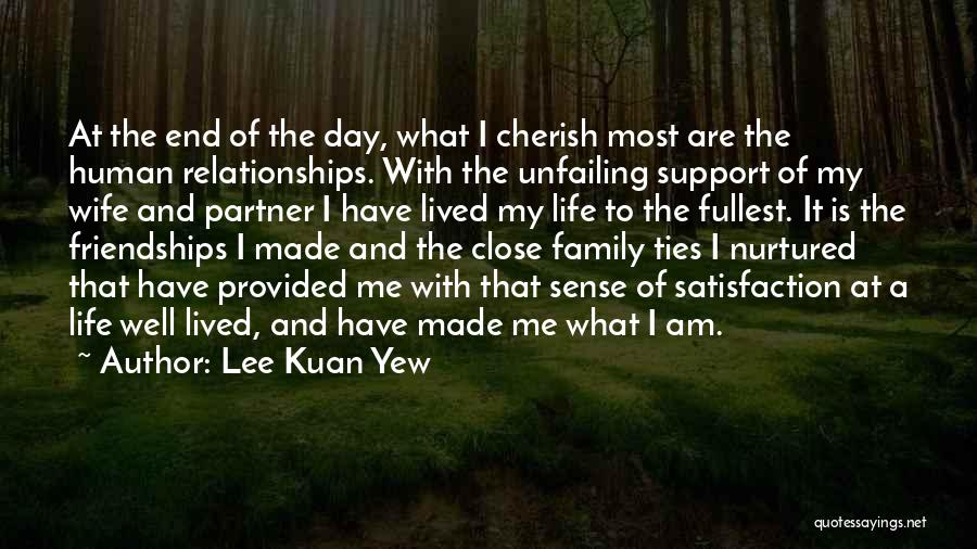A Day With My Family Quotes By Lee Kuan Yew