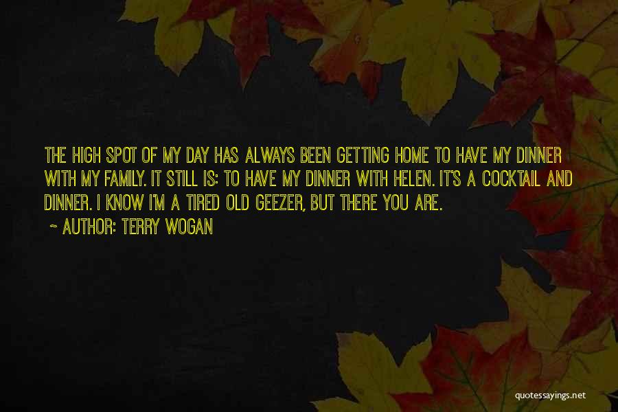A Day With My Family Quotes By Terry Wogan