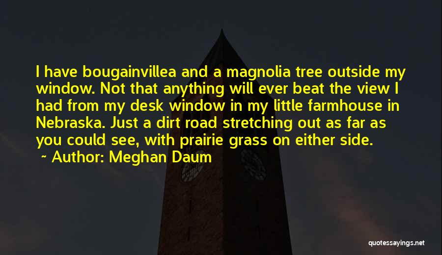 A Dirt Road Quotes By Meghan Daum