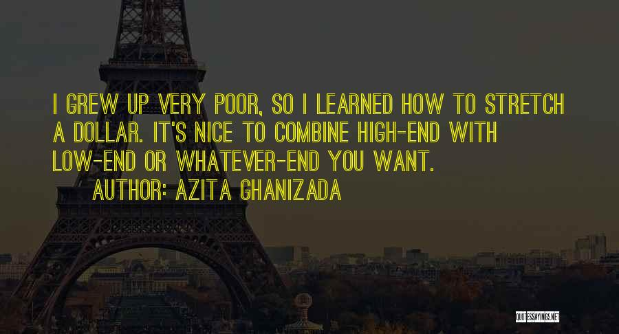 A Dollar Quotes By Azita Ghanizada