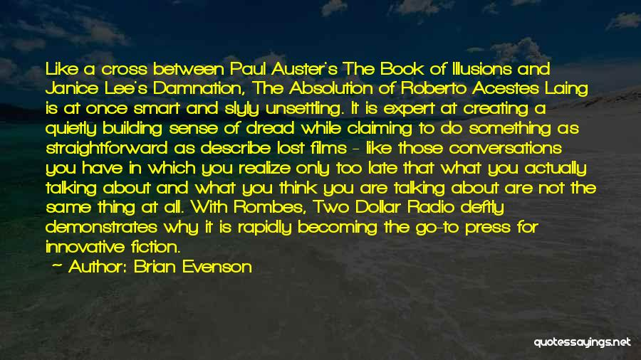 A Dollar Quotes By Brian Evenson