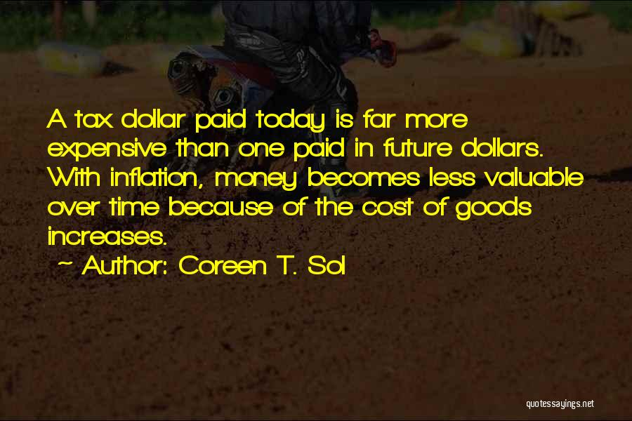 A Dollar Quotes By Coreen T. Sol
