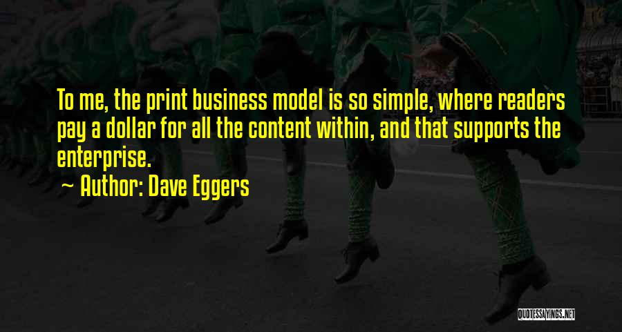 A Dollar Quotes By Dave Eggers