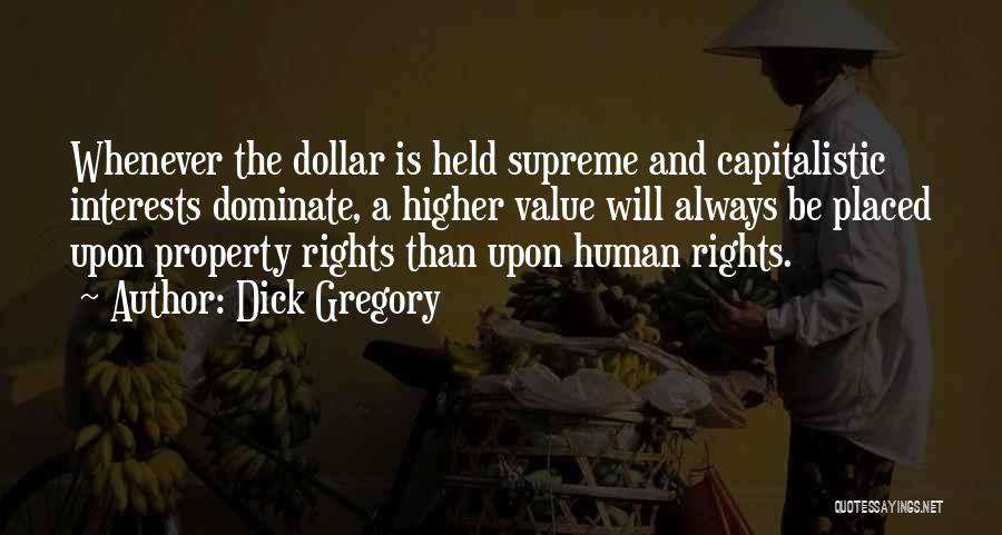 A Dollar Quotes By Dick Gregory