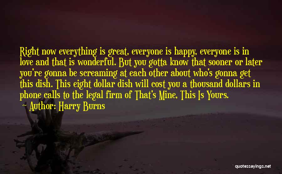 A Dollar Quotes By Harry Burns