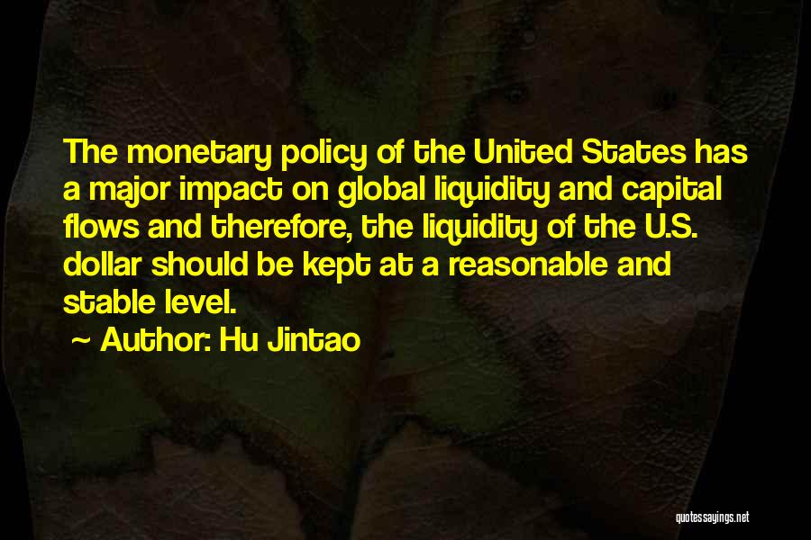 A Dollar Quotes By Hu Jintao
