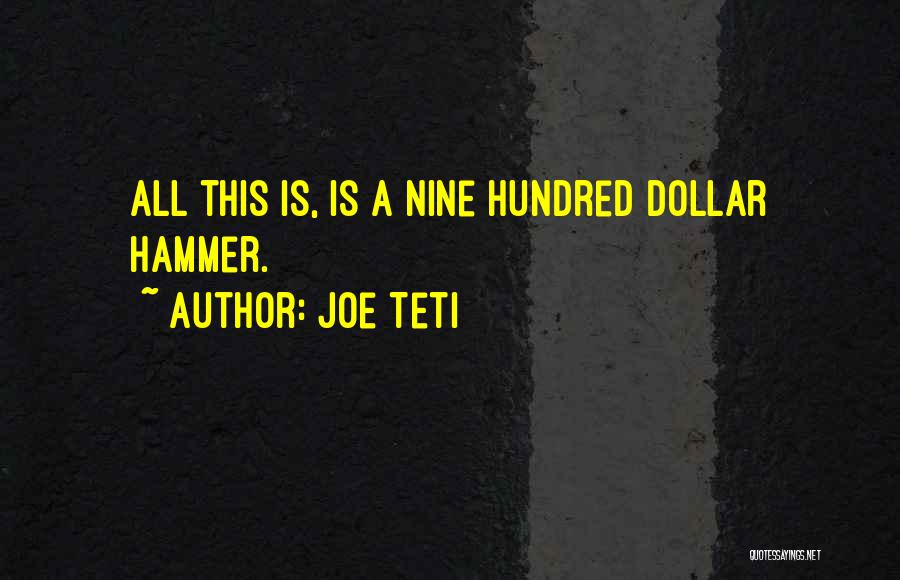 A Dollar Quotes By Joe Teti