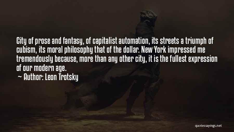 A Dollar Quotes By Leon Trotsky