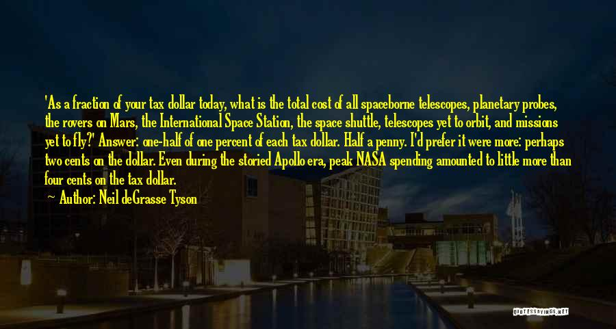 A Dollar Quotes By Neil DeGrasse Tyson