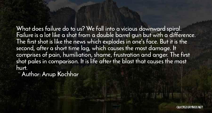 A Downward Spiral Quotes By Anup Kochhar