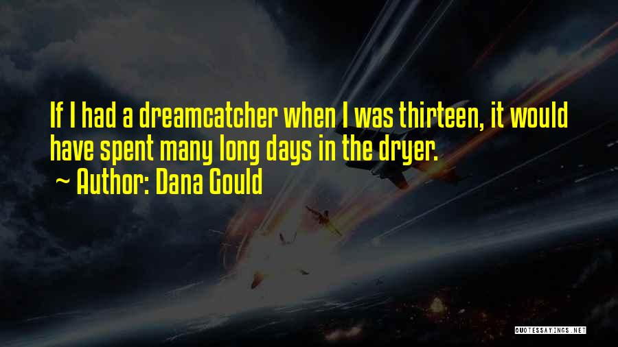 A Dreamcatcher Quotes By Dana Gould