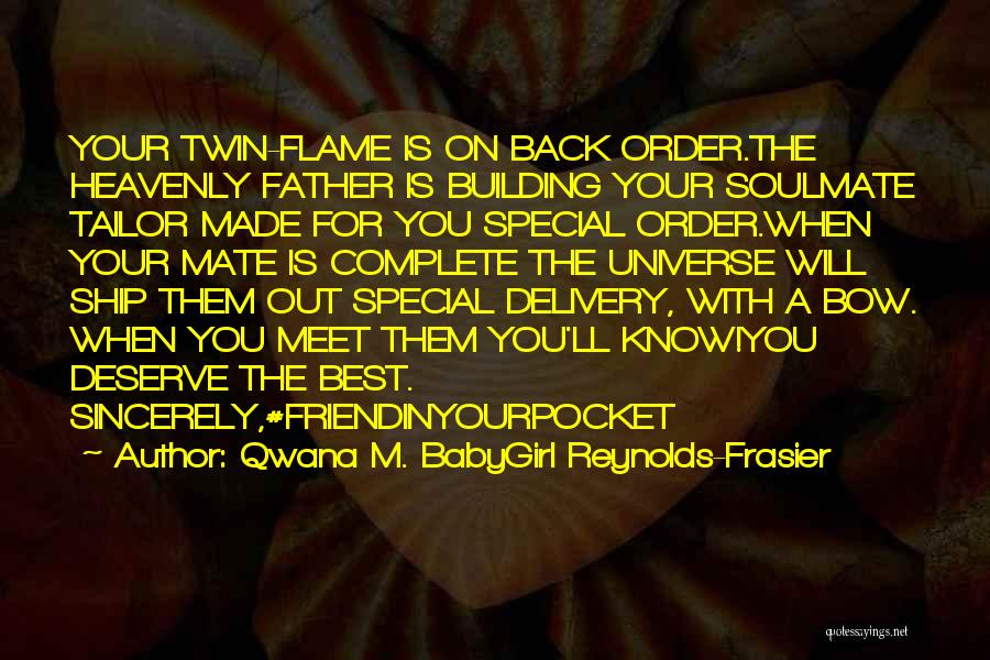 A-england New Heavenly Quotes By Qwana M. BabyGirl Reynolds-Frasier