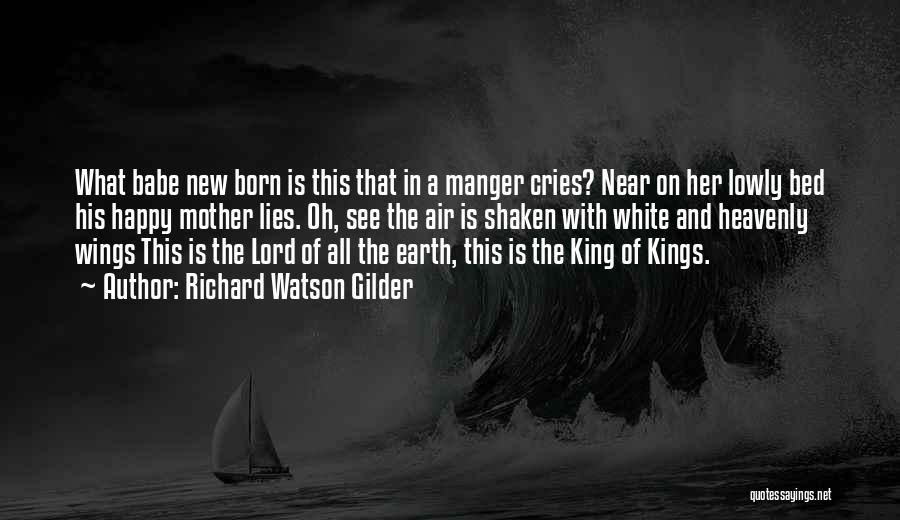 A-england New Heavenly Quotes By Richard Watson Gilder