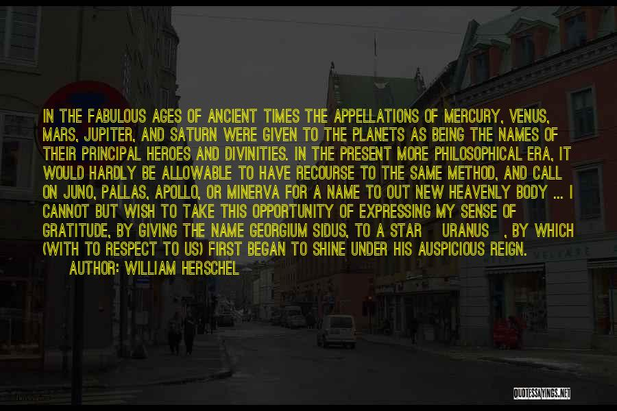 A-england New Heavenly Quotes By William Herschel