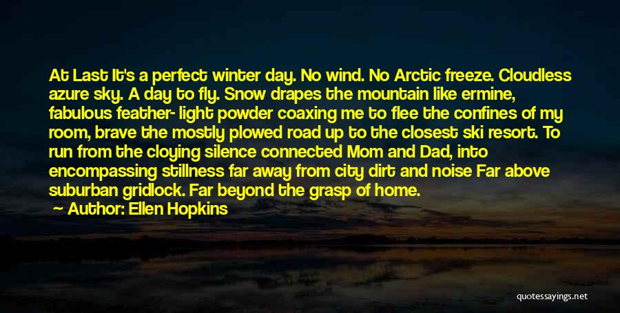 A Fabulous Day Quotes By Ellen Hopkins