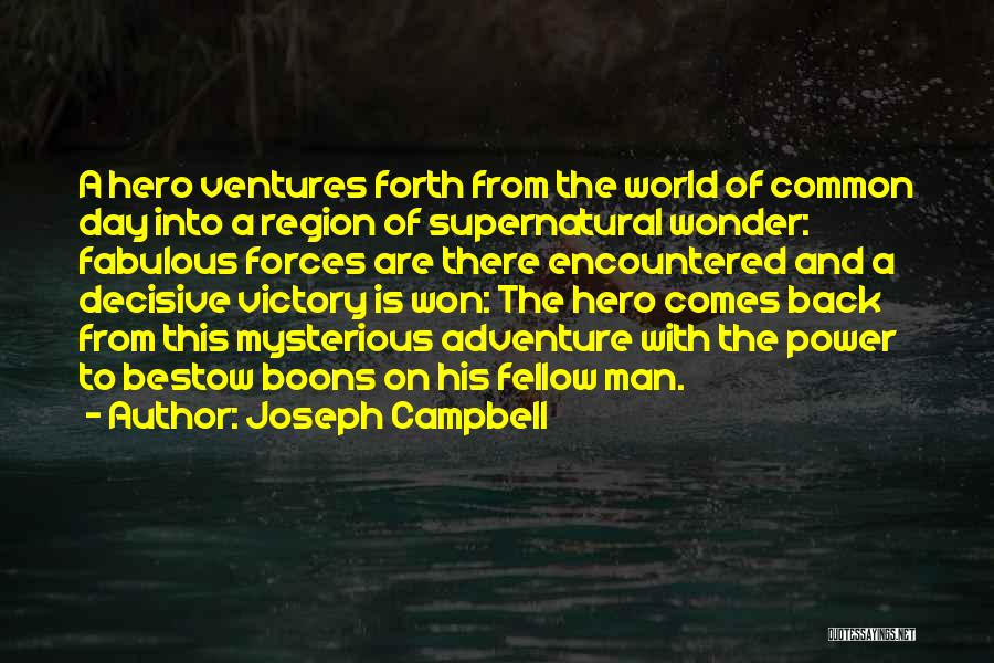 A Fabulous Day Quotes By Joseph Campbell