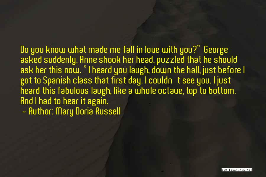 A Fabulous Day Quotes By Mary Doria Russell