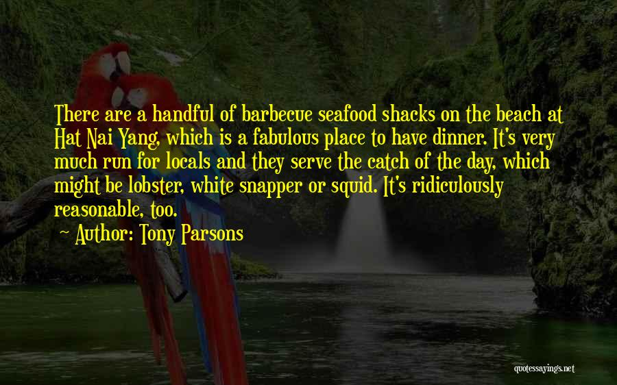 A Fabulous Day Quotes By Tony Parsons