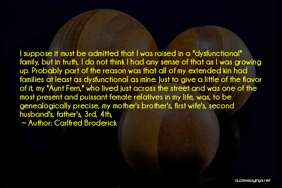 A Family Of Three Quotes By Carlfred Broderick
