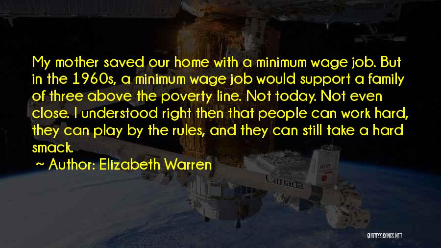 A Family Of Three Quotes By Elizabeth Warren