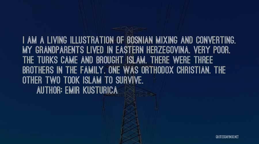 A Family Of Three Quotes By Emir Kusturica