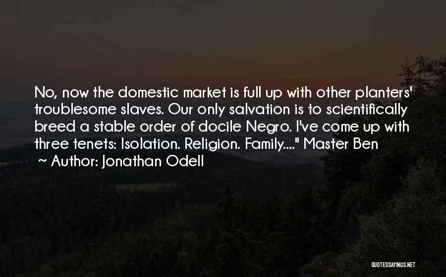 A Family Of Three Quotes By Jonathan Odell