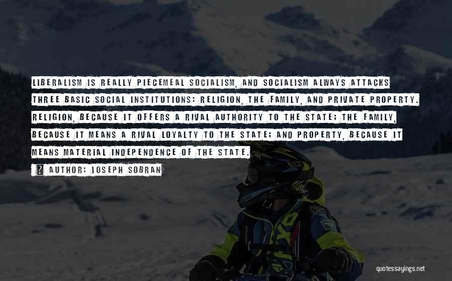 A Family Of Three Quotes By Joseph Sobran