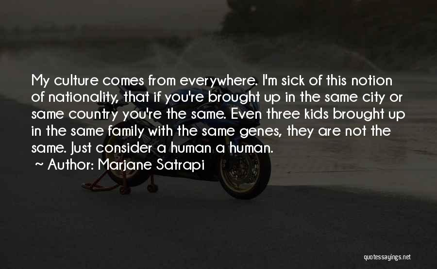 A Family Of Three Quotes By Marjane Satrapi